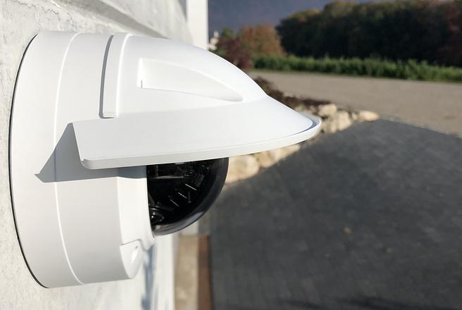Caméra de surveillance maison entreprise Neuchâtel Suisse Axis & Dahua