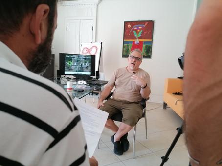 ... un intervista per caso ... uno scrittore di fantascienza in casa Kitzanos ...