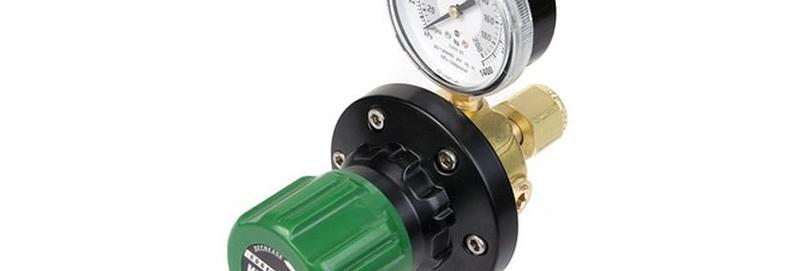 Victor® EDGE™ EST4-80-024R Single Stage Pipeline Station Regulator Oxygen
