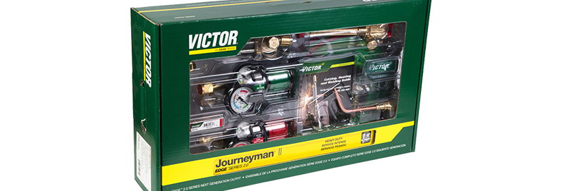 Victor® 0384-2111 Journeyman II EDGE 2.0 540/510 90° Plus Outfit