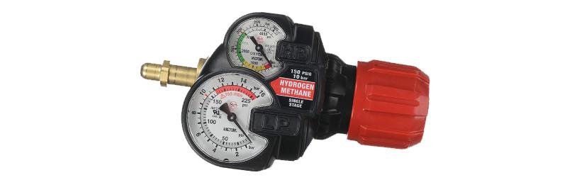 Victor® EDGE™ 2.0 ESS42-150-350 Regulator Methane/Hydrogen