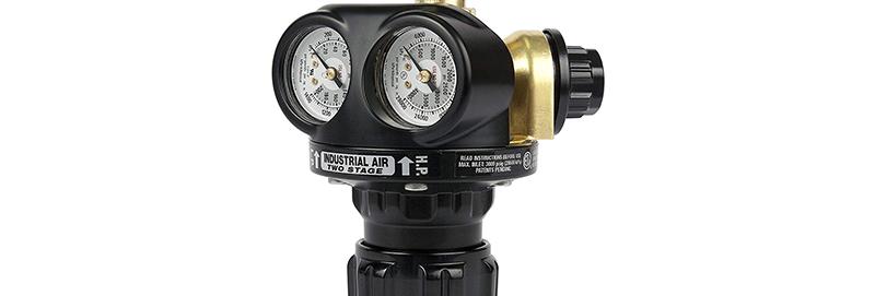 Victor® Pro EDGE™ EST4-125-590 Two Stage Cylinder Regulator Industrial Air