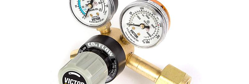 Victor® GF150-50-320 Cylinder Regulator Flowgauge