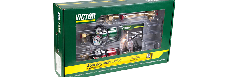 Victor® 0384-2081 Journeyman Select EDGE 2.0 540/510 90° Plus Outfit