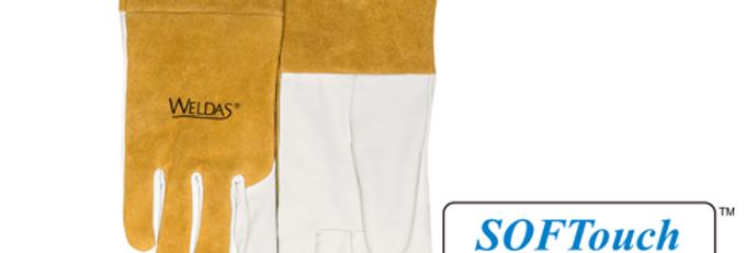 SOFTouch™ Best MIG / TIG Goatskin-Cowhide Welding Gloves
