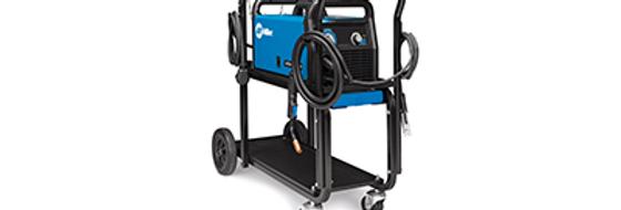 Millermatic® 141 MIG Welder with Running Gear/Cylinder Rack 120V 1-Phase