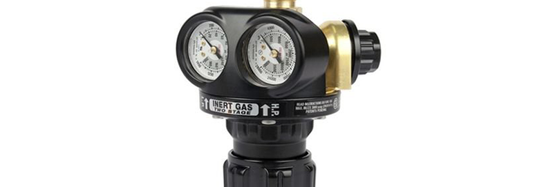 Victor® Pro EDGE™ EST4-125-580 Two Stage Cylinder Regulator Inert