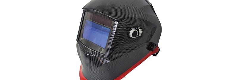 WeldPRO Series 700 Auto Darkening Welding Helmet – Black Carbon Fiber