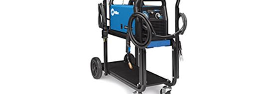 Millermatic® 211 MIG Welder with Running Gear/Cylinder Rack 120/240V 1-Phase