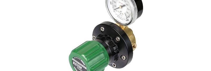 Victor® EDGE™ ESL4-125-250X Liquid Pipeline Regulator Hydrogen, Methane, LP Gas