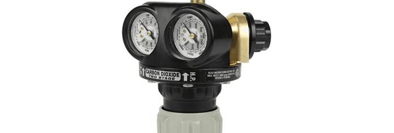 Victor® Pro EDGE™ EST4-125-320 Two Stage Cylinder Regulator Carbon Dioxide