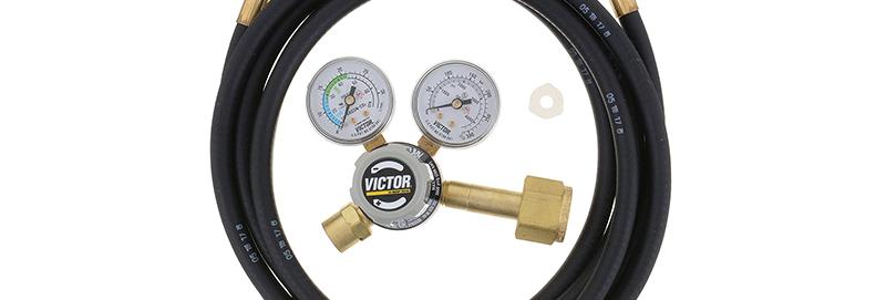 Victor® GF150-50-320 Cylinder Regulator with Hose
