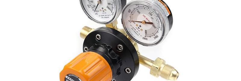 Victor® Pro EDGE™ ESS7-125-510LP Single Stage High Flow Cylinder Regulator LPGas
