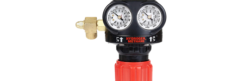Victor® EDGE™ ESS4-200-350 Cylinder Regulator Hydrogen Methane