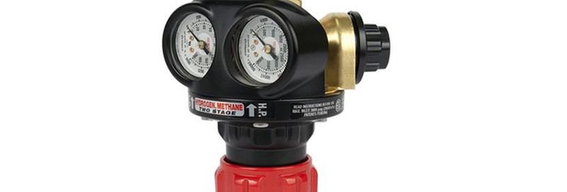 Victor® Pro EDGE™ EST4-200-350 Two Stage Cylinder Regulator Hydrogen Methane