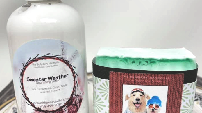 SWEATER WEATHER LOTION SOAP DUO