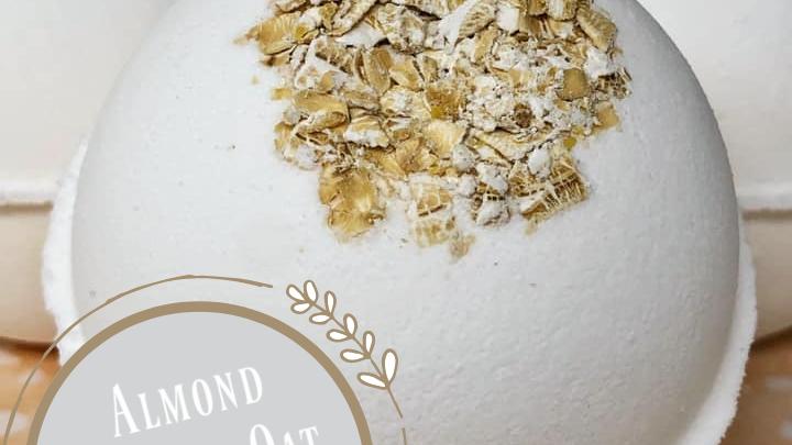 Almond Vanilla Oat Bath Bomb