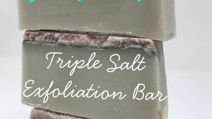 Gritty Kitty Salt Exfoliating Bar