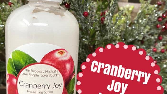 Cranberry Joy Nourishing Lotion
