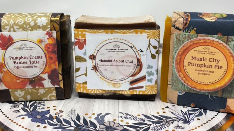 Sweet and Spicy Soap Trio
