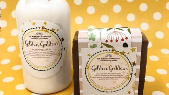 Golden Goddess Duo Soap/Lotion