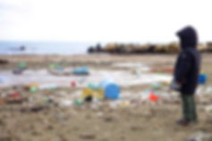 Kid watching pollution_38336801_low res.