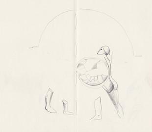 Glyptothek sketch