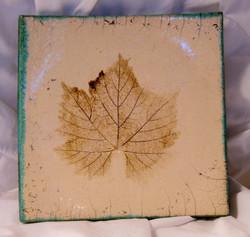 Grape Leaf Tapas Plate