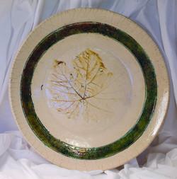 Grape Leaf Platter