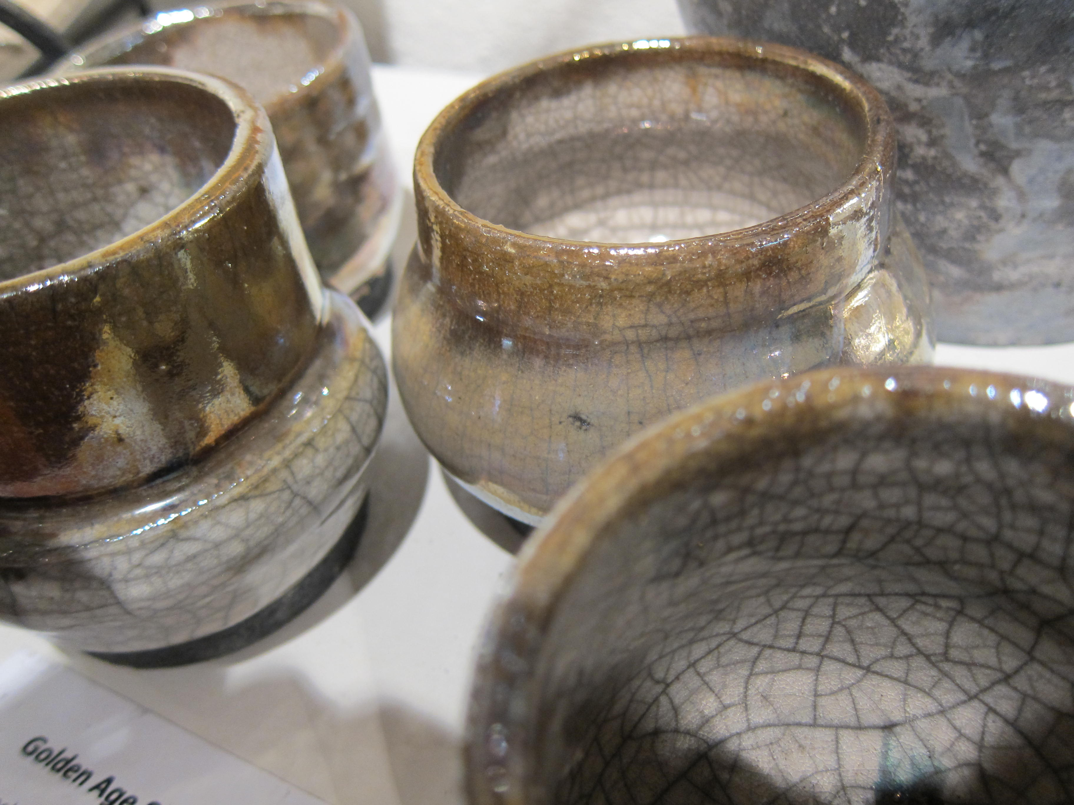 Golden Age Sake Cups