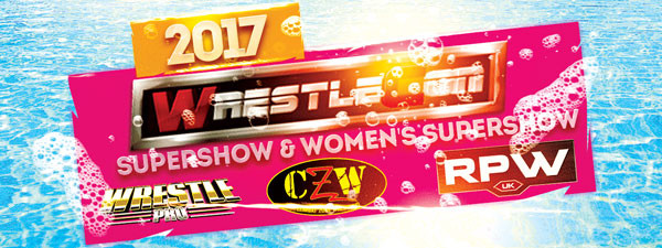 'Lady Wrestler' At WrestleCon Convention