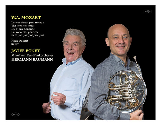 Mozart Horn Concertos and Quintet (CD & DVD) (PAL)