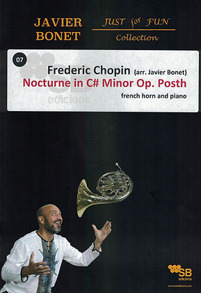 Chopin / Nocturne opus posth in C# m.(Sheet music)