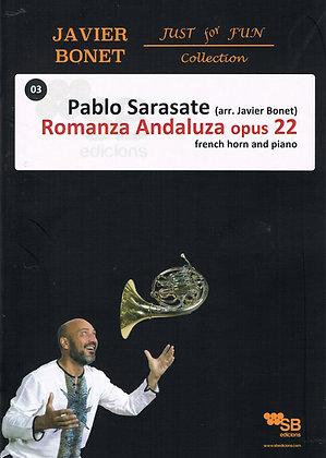 Sarasate / Romanza Andaluza opus 22 (Sheet music)