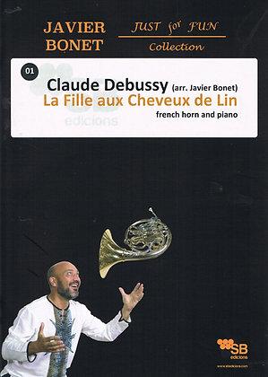 Debussy / La Fille aux cheveux de Lin (score)
