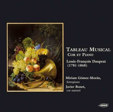 Tableau musical. Music for natural Horn by Dauprat