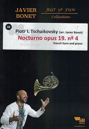 Tschaikovsky / Nocturne opus 19 n.4 (Sheet music)
