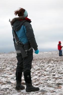Sarah_Gerats_Looking_For_Polar_Bears_credit_Danielle_Eubank_Svalbard_Oct2014