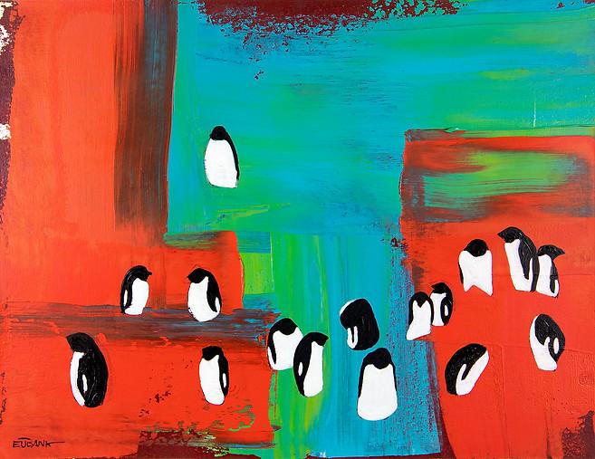Antarctica Penguins I