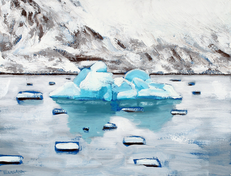 Arctic Floating Ice I