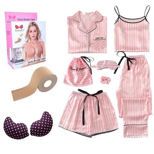Pijama+ BoobTape +Bra