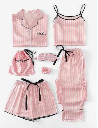 Pijama Pink 7 piezas