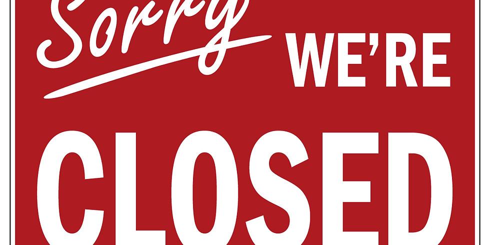 Closed until Noon