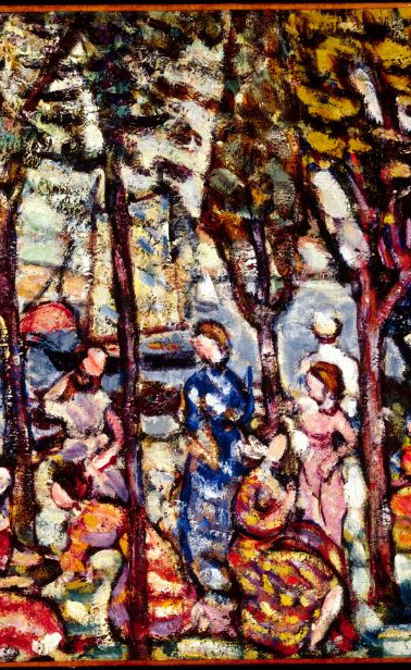 """Edges of the Woods"" by Maurice Prendergast"
