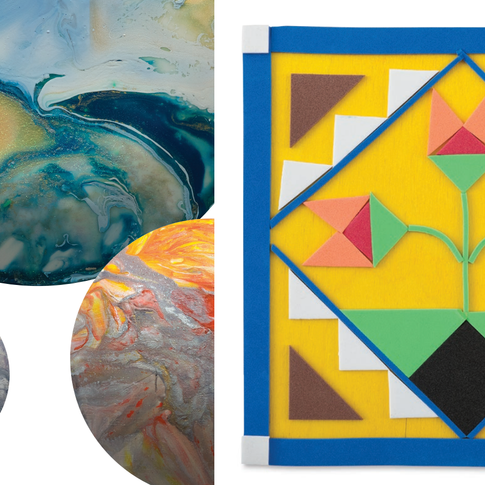 3-Day Art Camp: In the Cosmic Flow & Join the Barn Quilt Trail!