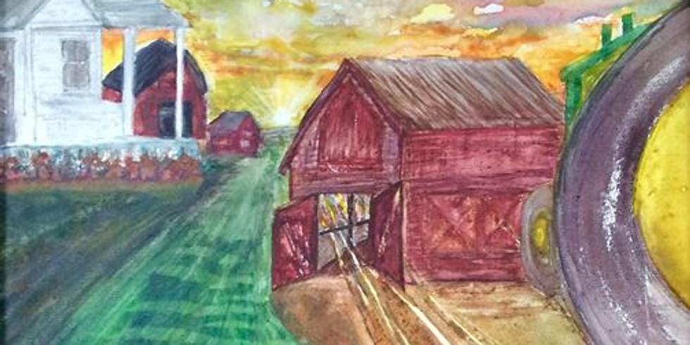 "Youth Art Camp: ""Back Home Settings"""