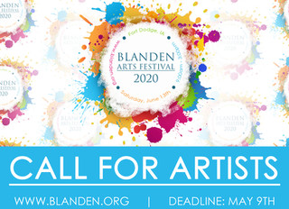 CALL FOR ARTISTS: Blanden Arts Festival 2020