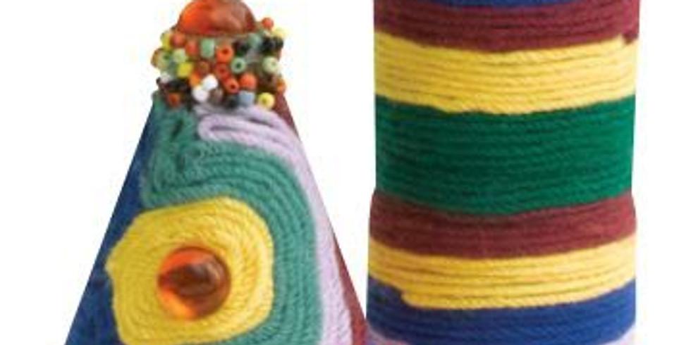 Youth Art Class (6-10 year olds): Yarn Bottles