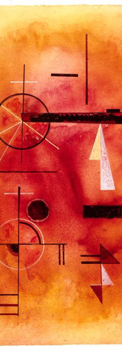 """Schimmer"" by Wassily Kandinsky"