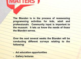 Blanden Art Education Survey